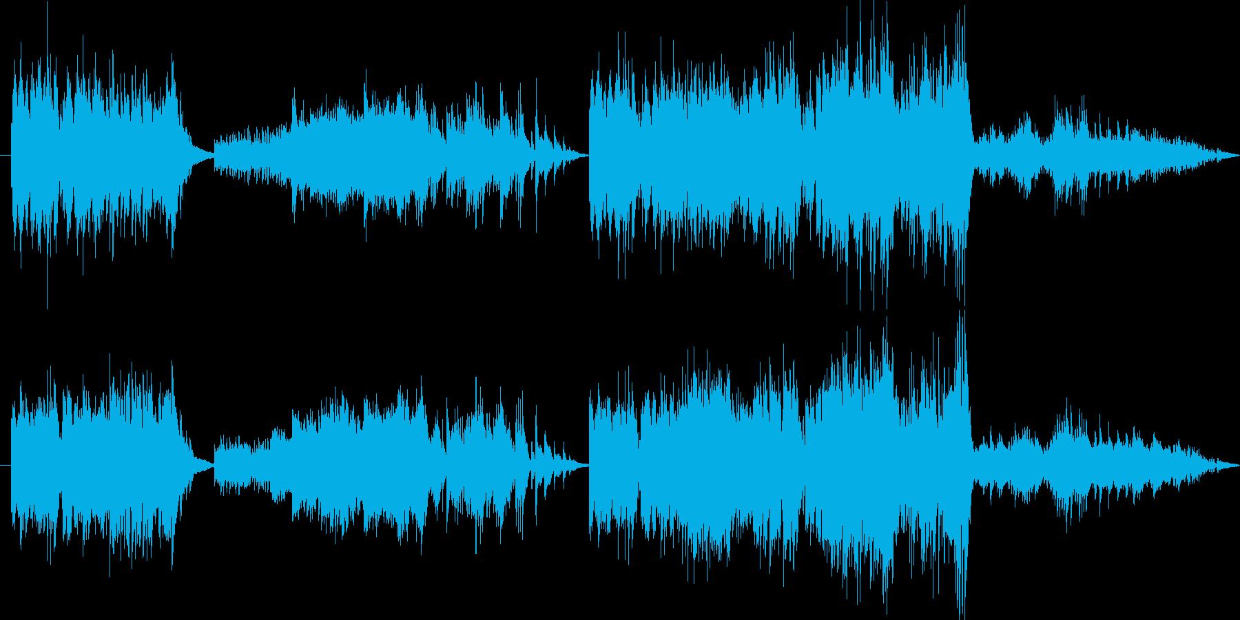 ピアノ独奏、「冬」のイメージです。北風…の再生済みの波形