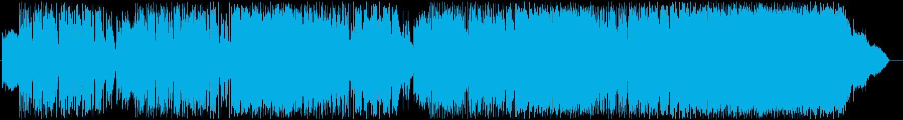 ポップロック、男性ボーカル。ブルー...の再生済みの波形