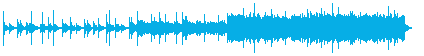 CM向けロックアンセム30秒歌tmb無版の再生済みの波形