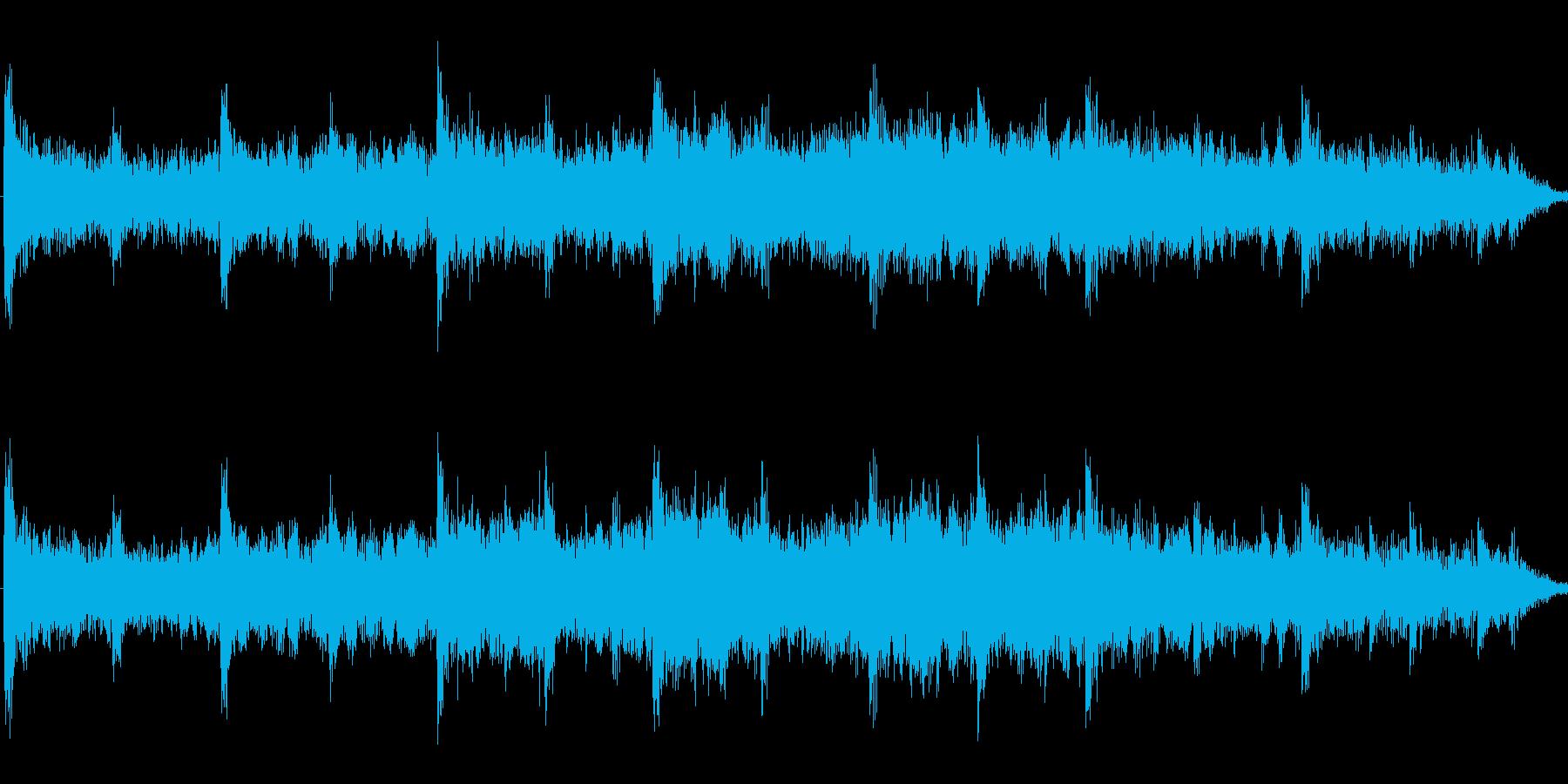 ミステリアスでダークなアンビエントの再生済みの波形
