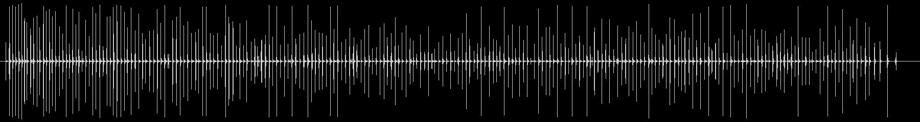 足音 男/走る下駄+コンクリートの未再生の波形