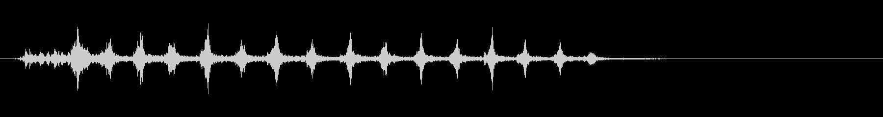 シャカシャカシャカシャカ~連射~の未再生の波形