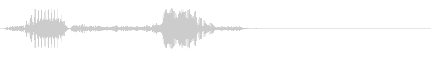 8,000の未再生の波形