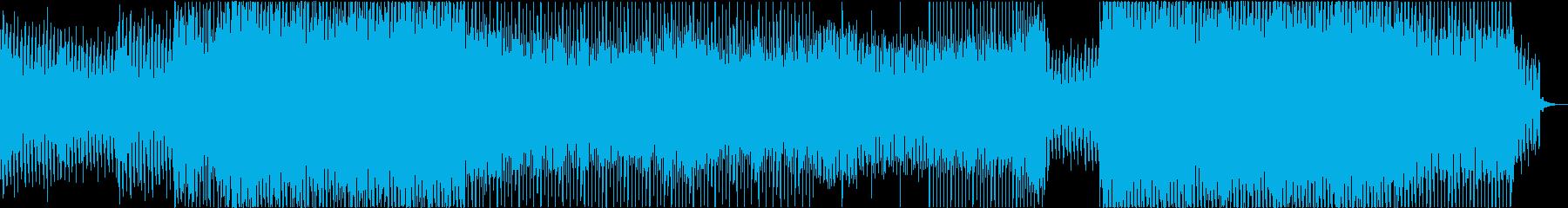 EDM 楽しい 明るい バラエティーTVの再生済みの波形