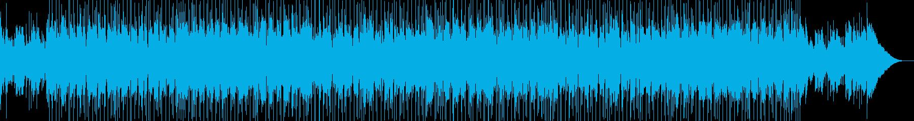 柔らかくて温かい音色の素敵でリラッ...の再生済みの波形