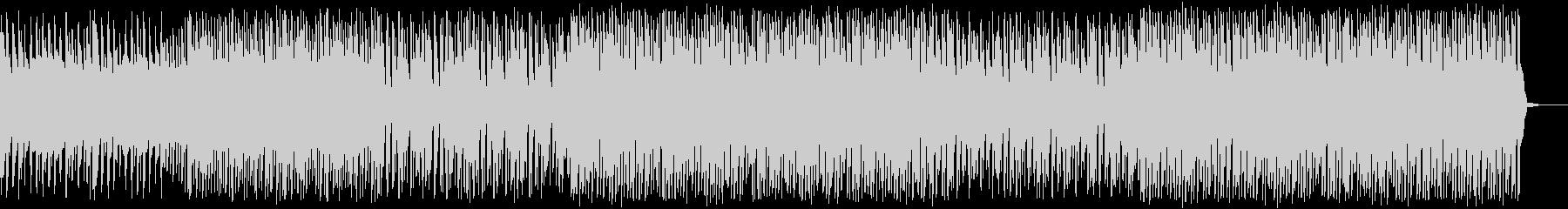 コミカルな探検BGM_No581_1の未再生の波形