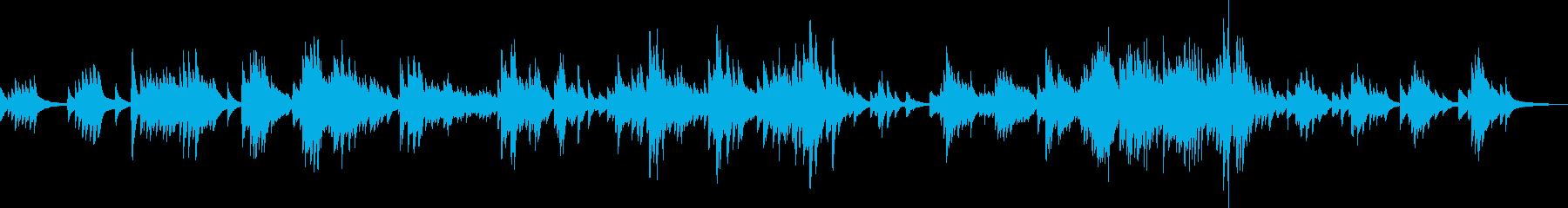 夕日に染まる街(ピアノ・優しい・切ない)の再生済みの波形