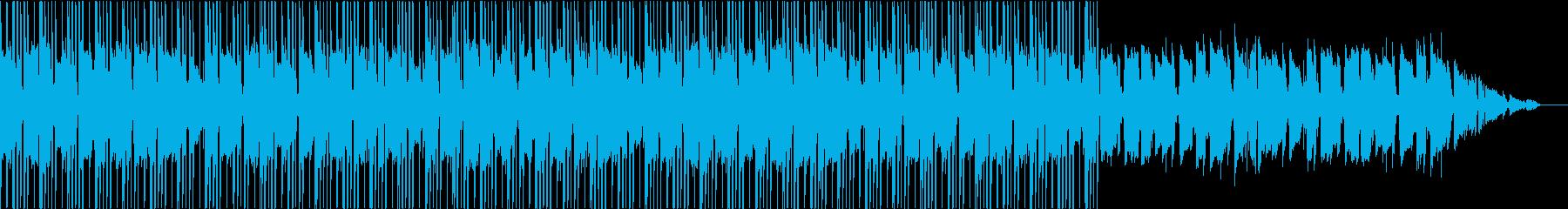 おしゃれでしっとりなヒップホップの再生済みの波形