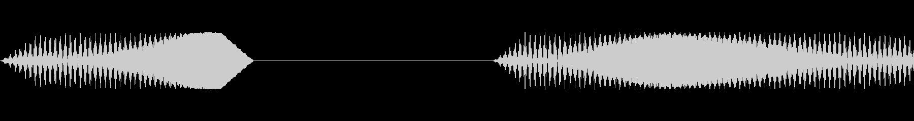 小型ロボット、DROID:通信ビー...の未再生の波形