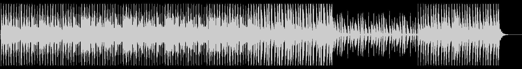 夜の散歩をイメージしたシャッフル系チルの未再生の波形