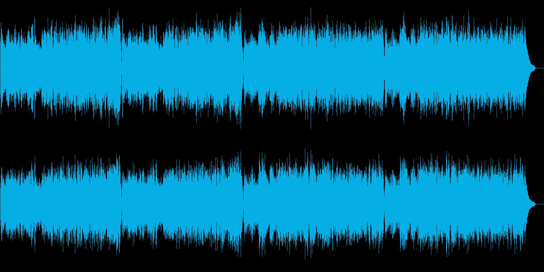 軽快で上品なチェンバロ バロック・高音質の再生済みの波形