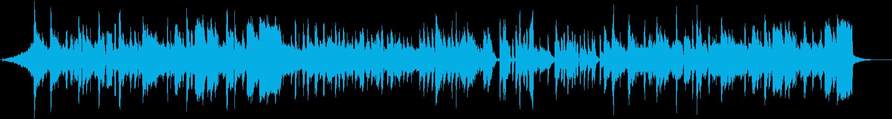 受験生の応援をテーマにした楽曲の再生済みの波形