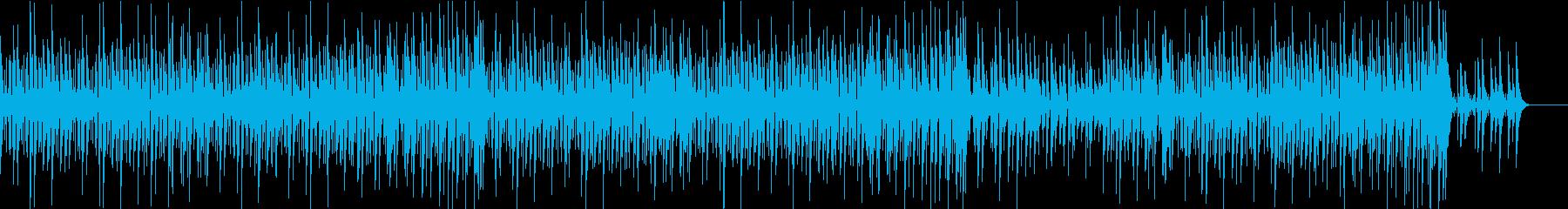 エレガントで心地よいジャズの再生済みの波形