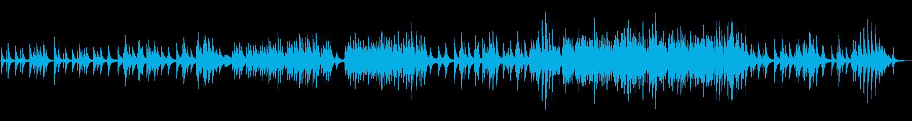 メロディが綺麗バラードピアノver.の再生済みの波形