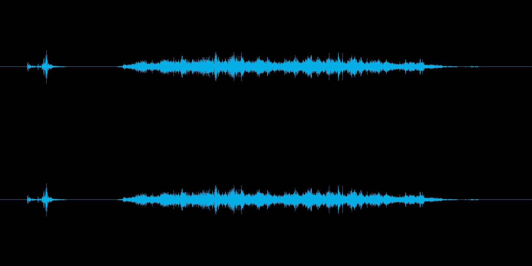 【カッター02-7(切る 段ボール)】の再生済みの波形