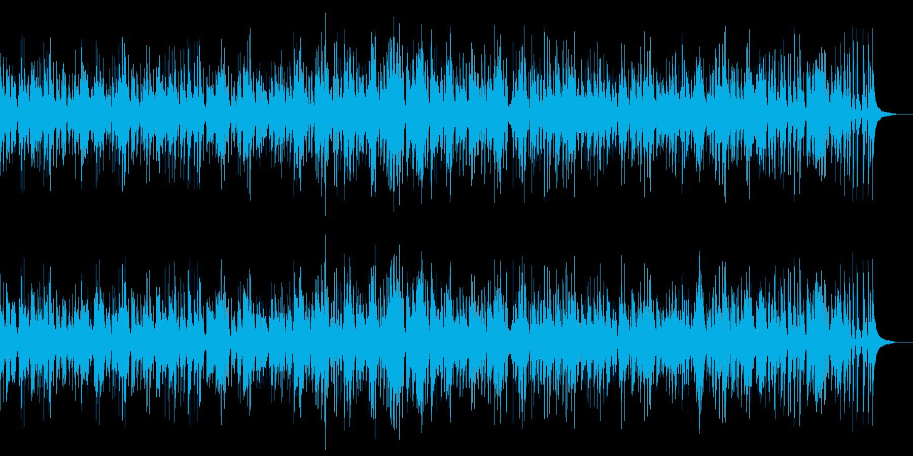 お洒落なジャズピアノトリオ14ゆったりの再生済みの波形