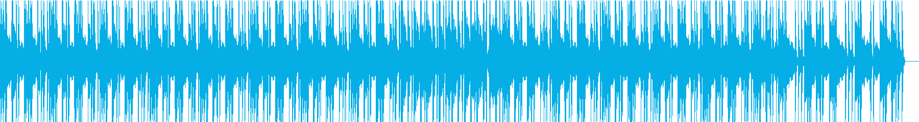 ヒップホップでジャジーなBGMの再生済みの波形