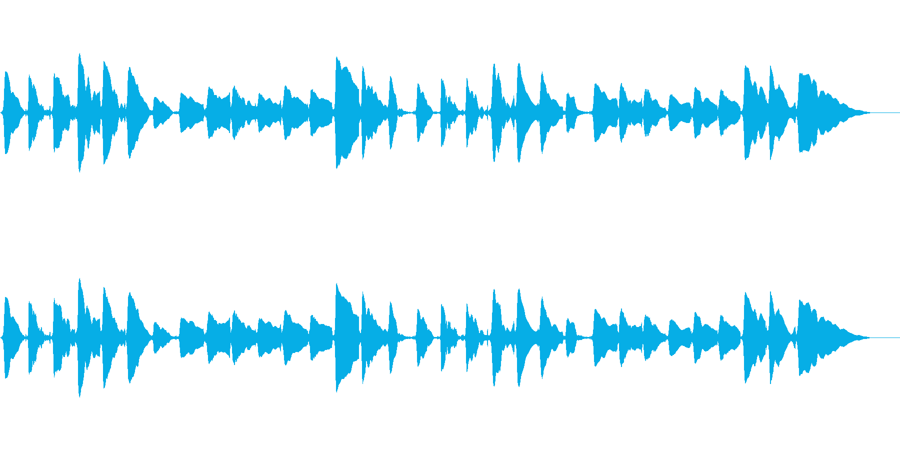sax一本での切ないメロディーの再生済みの波形