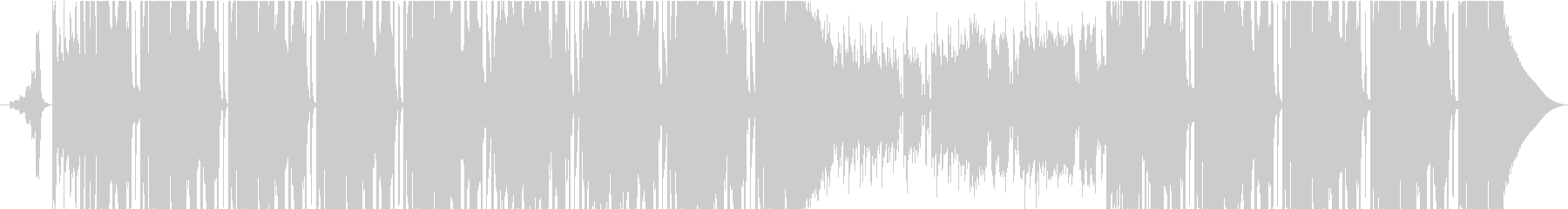 バックグラウンドアクションヒップホップの未再生の波形