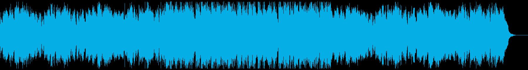 オープニング・優しいボサノバの再生済みの波形