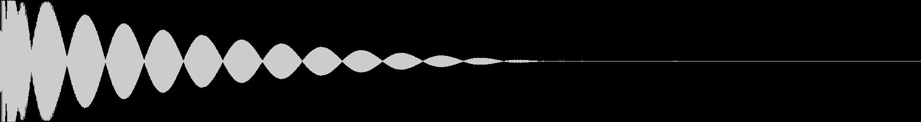 DTM Kick 88 オリジナル音源の未再生の波形