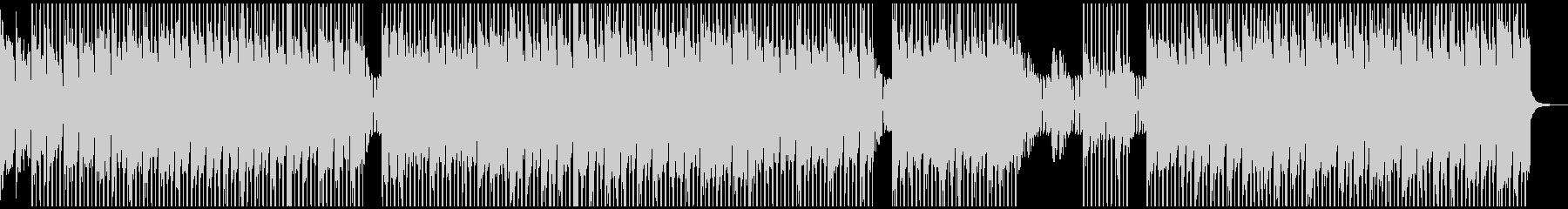 クールな雰囲気のテクノポップの未再生の波形
