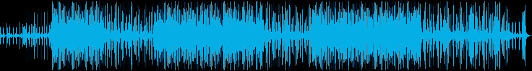 おしゃれで軽快なチルポップの再生済みの波形