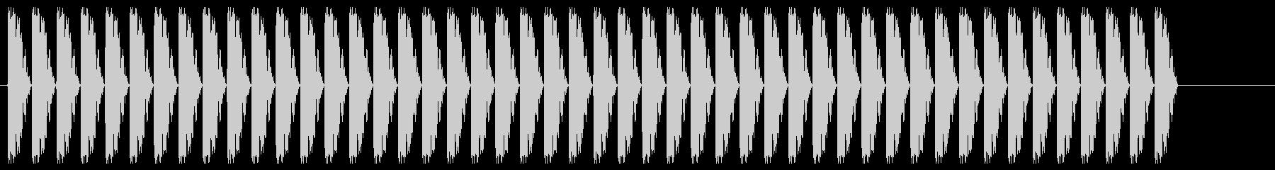 警報;急速に変化する短時間連続アラーム。の未再生の波形