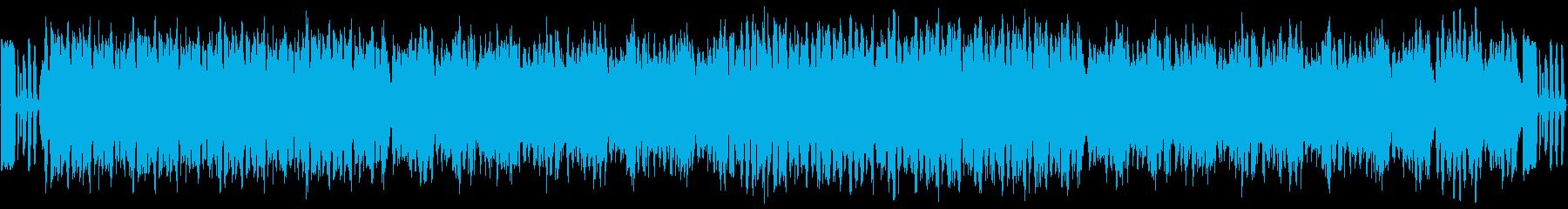 コミカルなドタバタ系BGMですの再生済みの波形
