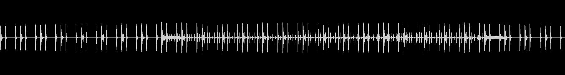 教育番組っぽいパーカッションBGMループの未再生の波形