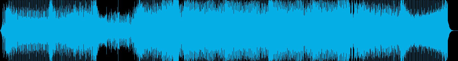 壮大なプログレッシブハウスの再生済みの波形