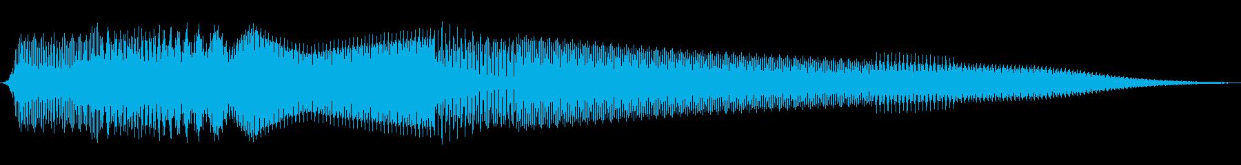 ボタン押下や決定音_ピロリン!の再生済みの波形
