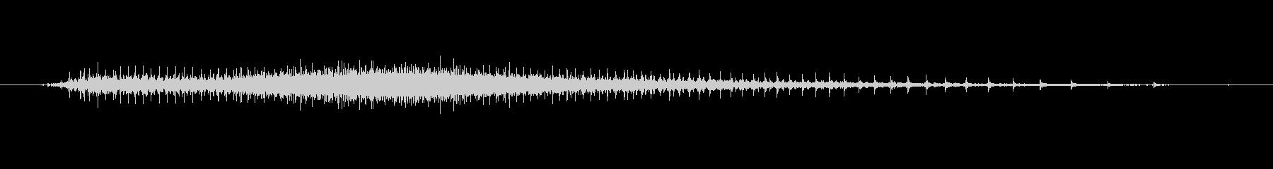 工業 ロックドリルチゼルバースト回...の未再生の波形