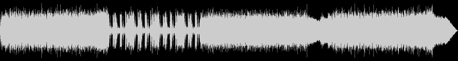 メタルバンド風BGMの未再生の波形