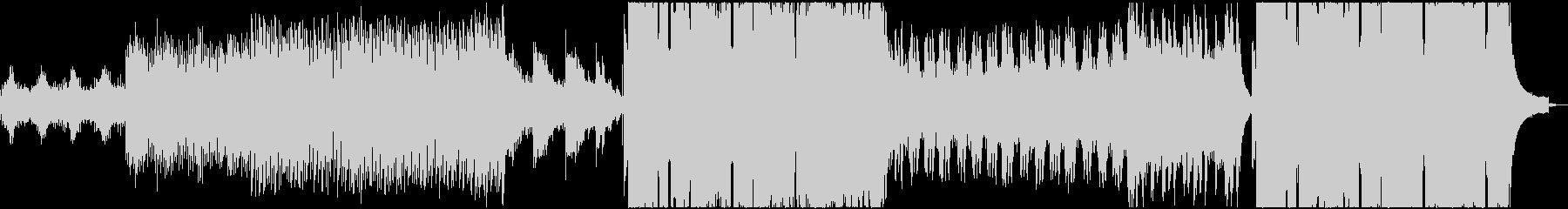 電気研究所インスピレーションを高め...の未再生の波形