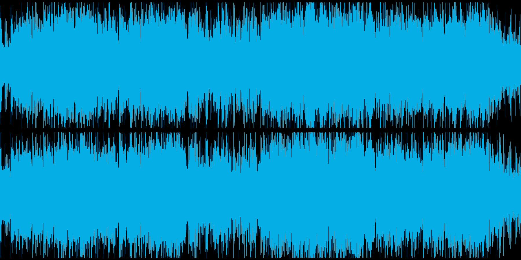 爽やか疾走感アコースティック ※ループ版の再生済みの波形