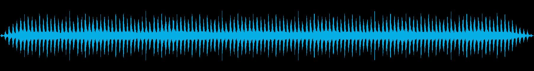ザッザッザッの再生済みの波形