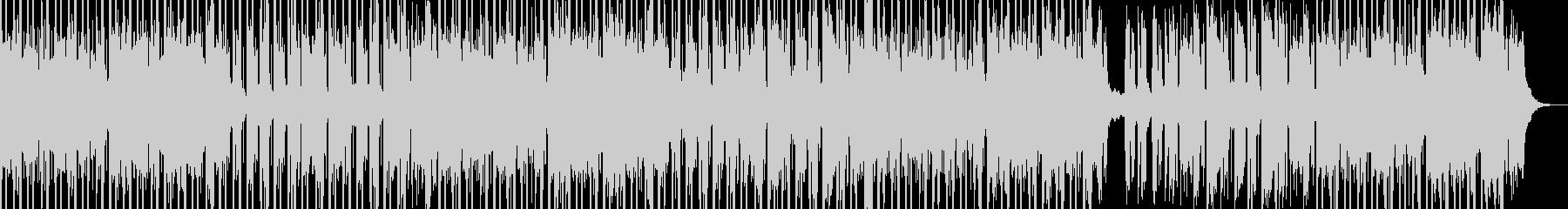 神秘的な民族音楽風BGMの未再生の波形