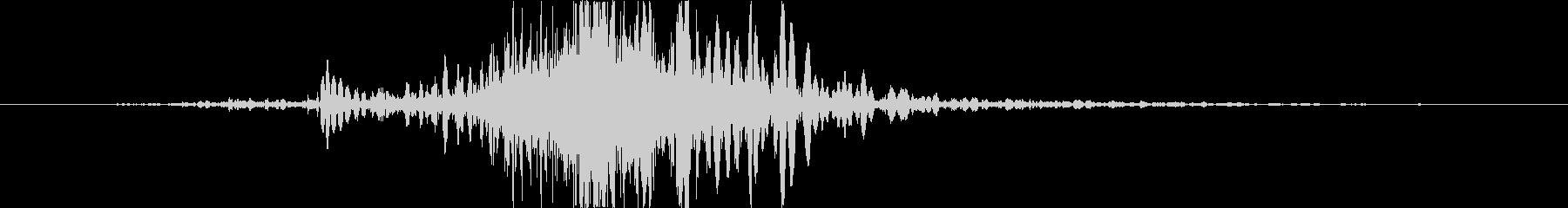 斬撃 ファイアーノイズブラストミデ...の未再生の波形