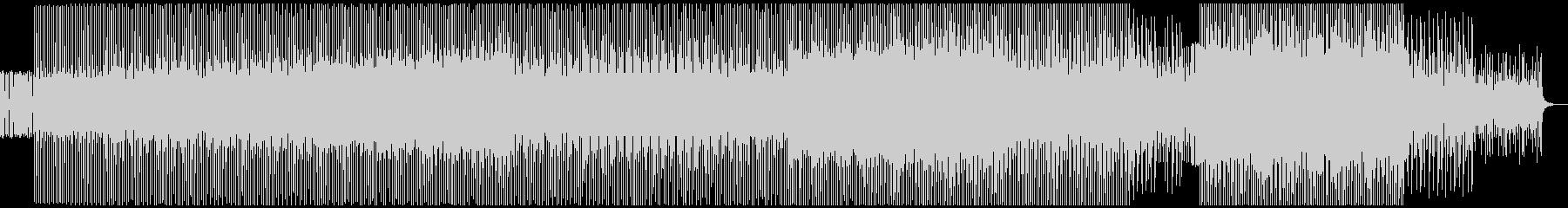 ループミュージック!オーガニックハウスの未再生の波形