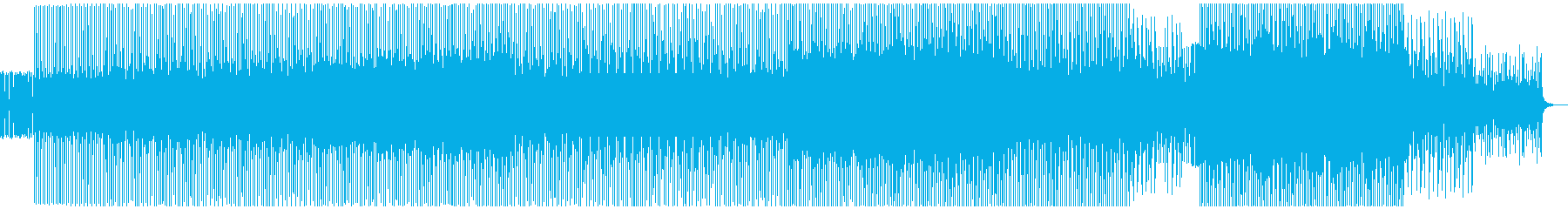 ループミュージック!オーガニックハウスの再生済みの波形