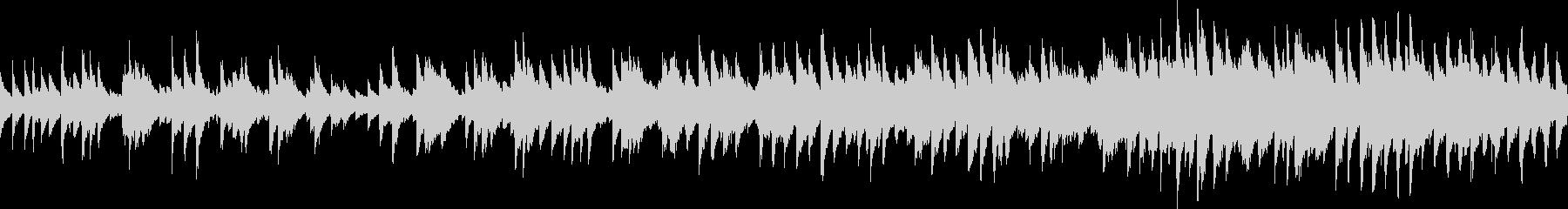 シャッフルカントリーバラード(ループ)の未再生の波形