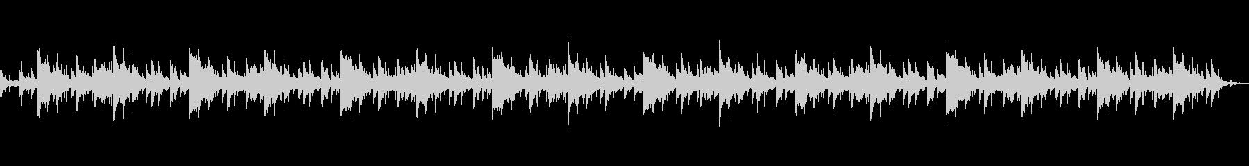 ホラー風BGM -別れ-の未再生の波形