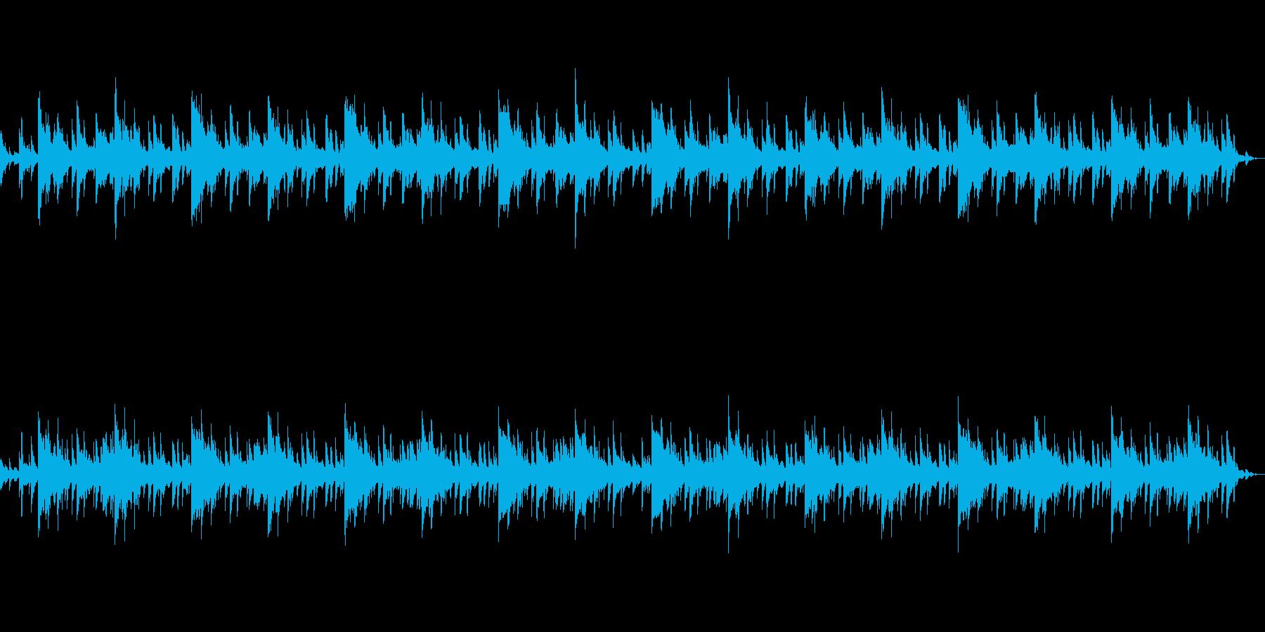 ホラー風BGM -別れ-の再生済みの波形
