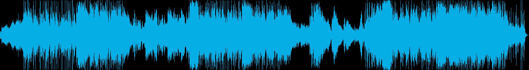 尺八の生演奏によるドラマティックサウンドの再生済みの波形