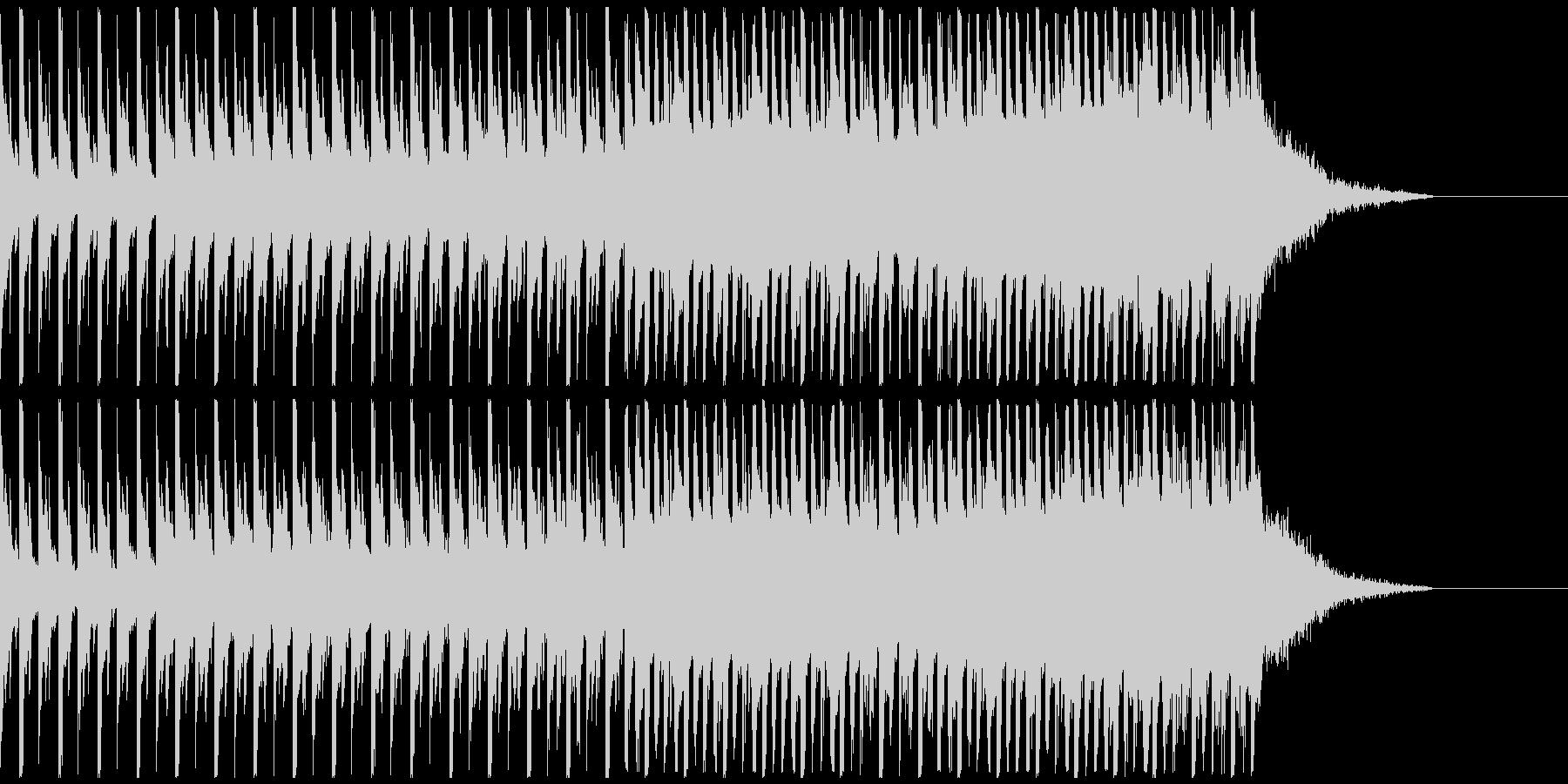 オシャレ・戦闘・スリリングEDM、⑦の未再生の波形
