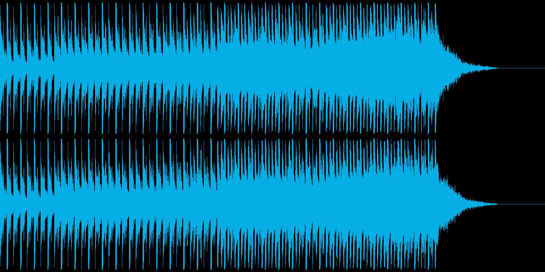 オシャレ・戦闘・スリリングEDM、⑦の再生済みの波形