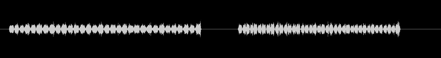 サンドペーパーの未再生の波形