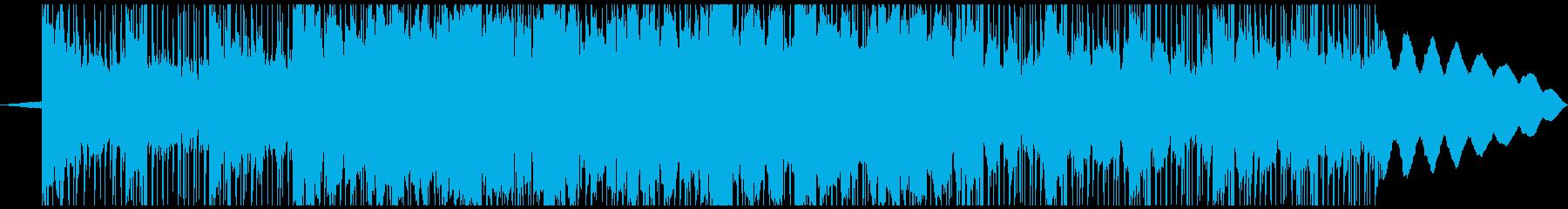 実験的な 淡々 テクノロジー シン...の再生済みの波形