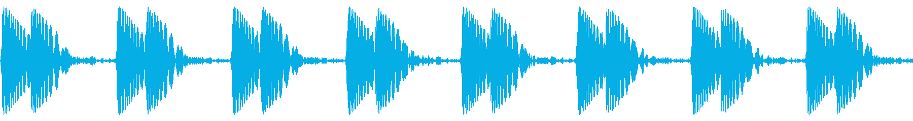 ドクン/心臓/心拍数の再生済みの波形